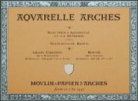 Arches 140lb Rough Block 7x10 20 sheets