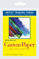 Artist Trading Cards Canvas Paper 2.5x3.5 10 sheets