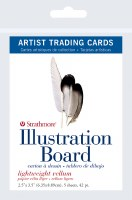 Artist Trading Cards Lightweight Vellum Illustration Board 2.5x3.5 5 sheets