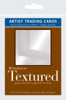 Artist Trading Cards 400 Series 80lb Textured Paper 2.5x3.5 20 sheets