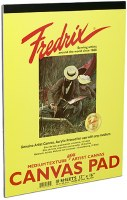 Fredrix Canvas Pad 9x12