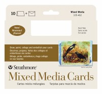 Strathmore Mixed Media Cards 5x6.875 10pk