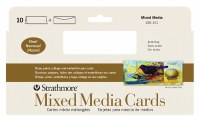 Strathmore Mixed Media Cards 3.875x9 10pk