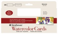 Stathmore Watercolor Cards 3.875x9 10pk