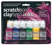 Ampersand™ Scratchbord™ Ink Set of 6