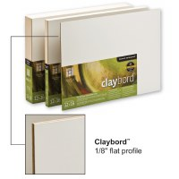 Ampersand™ Claybord™ Smooth 1/8in Flat 11x14