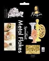 Mona Lisa Gold Metal Leaf Flakes