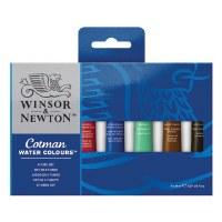 Winsor & Newton Cotman 12 Tube 8ml Set