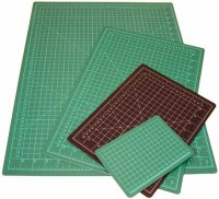 Art Alternitive Self Healing Cutting Mat Green/Black 9x12in.