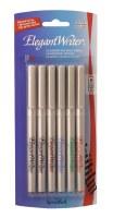 Speedball Elegant Writer Calligraphy Pen Set of 6 (Broad tips) #2883