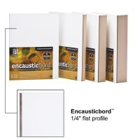 Ampersand™ Encausticbord™ 1/4in Flat 11x14