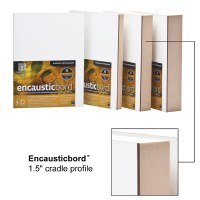 Ampersand™ Encausticbord™ with 1-1/2in Cradle 12x12