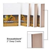 Ampersand™ Encausticbord™ with 2-1/8in Cradle 12x12