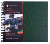 Hand Book Field Watercolor Journal 11x14 Hot Press