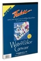 Fredrix Watercolor Canvas Pad 12x16 (10 Sheets)