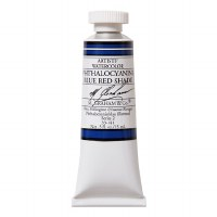 M. Graham Watercolor Phthalocyanine Blue Red .5oz