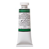 M. Graham Watercolor Phthalocyanine Green Yellow .5oz