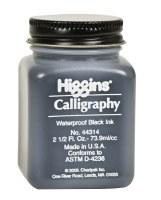 Higgins Calligraphy Waterproof Black Ink 44314