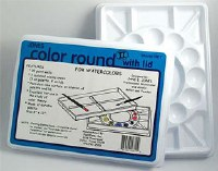 Jones Color Round Palette for Watercolors 8x11