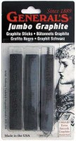 Generals Assorted Jumbo Graphite Sticks 3pk