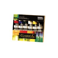 Liquitex Heavy Body Classic Set of 6, 2oz Tubes