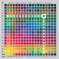 Magic Palette Color Mixing Guide