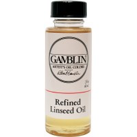 Gamblin Refined Linseed Oil 2oz