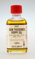 Holbein Artists Oil Medium Sun Thickened Poppy Oil 55ml