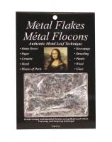 Mona Lisa Silver Metal Leaf Flakes