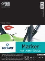 Canson Pro Layout Marker Pad 9x12 50 sheets