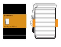 Moleskine Ruled Reporter Notebook Large