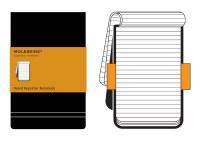 Moleskine Ruled Reporter Notebook Pocket