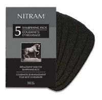 Nitram Sharpener Replacement Pads 5 sheets