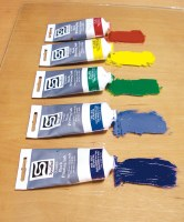 Speedball Oil Based Block Ink 1.25oz Blue