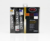 Golden OPEN Acrylic Introductory Set Traditional Colors Set of 6