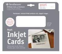 Strathmore Inkjet Cards with Pearl Finish 5x7 10pk