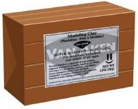 Van Aken Plastalina Modeling Clay 4.5lb. Brown