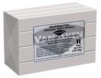 Van Aken Plastalina Modeling Clay 4.5lb. Gray