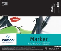 Canson Pro Layout Marker Pad 14x17 50 sheets
