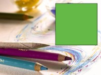 Conte Pastel Pencil Light Green 008