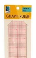 Art Alternatives Graph Ruler 8ths 2x18