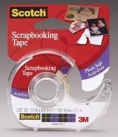 Scotch Scrapbooking Tape 3/4in. Wx 400in. L