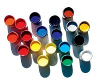 Speedball Acrylic Screen Printing Ink Process Yellow 8oz