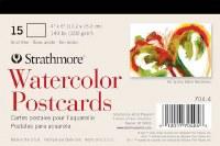 Strathmore Watercolor Postcards 4x6 15pk
