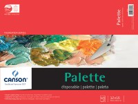 Canson Paper Palette Pad 12x16 40 sheets