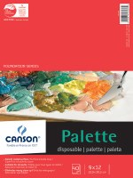 Canson Paper Palette Pad 9x12 40 sheets