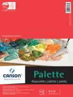 Canson Paper Palette Pad 9x12 40 sheets