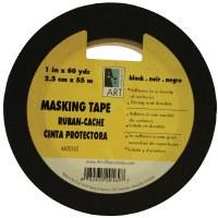 Art Alternatives Black Masking Tape 1/2in.x60yds
