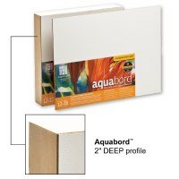 Ampersand™ Aquabord™ with 2in Cradle 11x14
