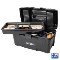 ArtBin Twin Top Storage Box with Lift-Out Tray 6918AB